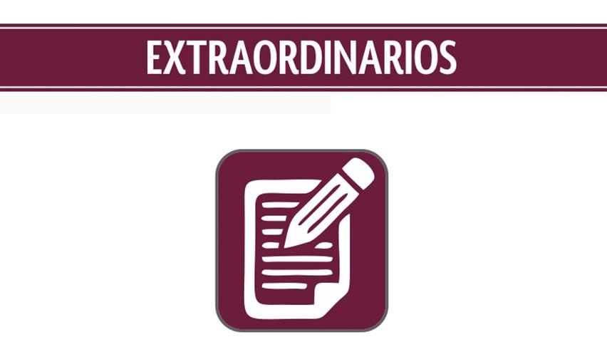 EXAMENES EXTRAORDINARIOS 2020-2021